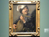 Hendrick ter Brugghen: Singender Lautenspieler, Um 1626
