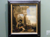 Jan Baptist Weenix: Ruhender Bettler, Undatiert