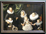 Wybrand de Geest: Familienbildnis, 1621