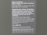 Sogenannter Ulmer Hochaltar, um 1400 - 1420, Bild 20/20