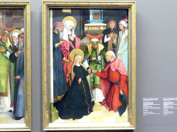 Meister des Pfullendorfer Altars: Pfullendorfer Altar - Die Verlobung der Maria, um 1500