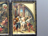 Hans Burgkmair der Ältere: Die Geißelung Christi, 1520 - 1524