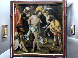 Hans Schäufelein: Die Geißelung Christi, 1509 - 1510