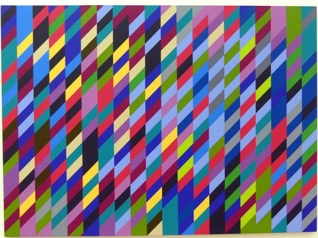 Bridget Riley: Cool Place, 1990