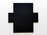 Imi Knoebel (Klaus Wolf Knoebel): Schwarzes Doppelkreuz, 1968
