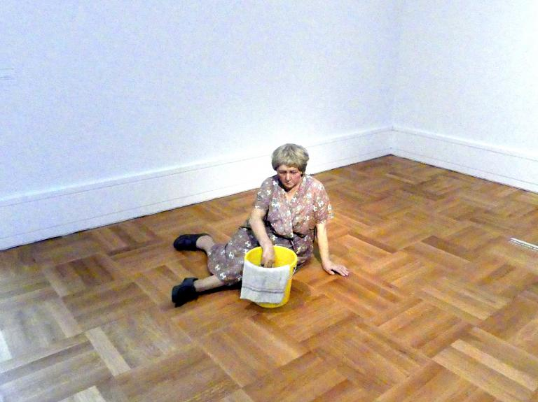 Duane Hanson: Cleaning Lady - Putzfrau, 1972