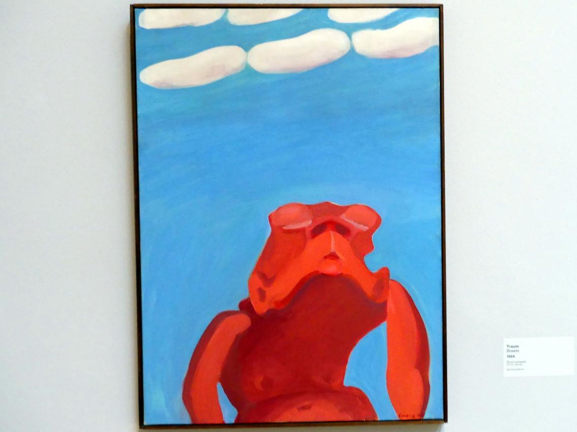 Maria Lassnig: Traum, 1964