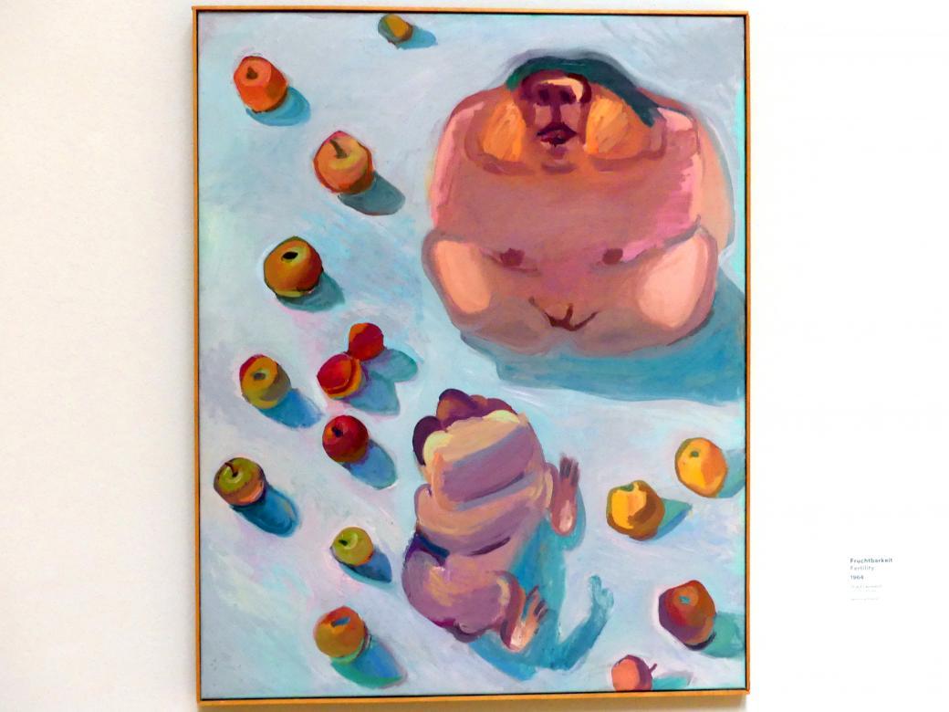 Maria Lassnig: Fruchtbarkeit, 1964