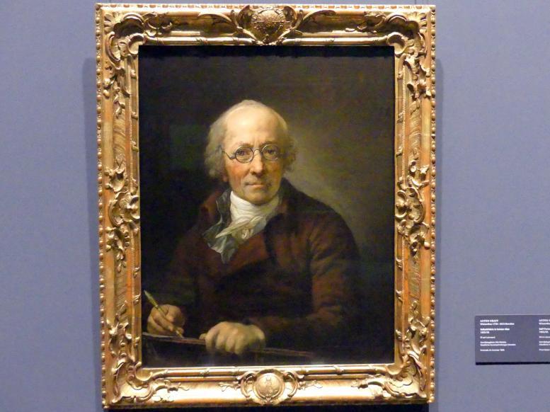 Anton Graff: Selbstbildnis in hohem Alter, 1805 - 1806