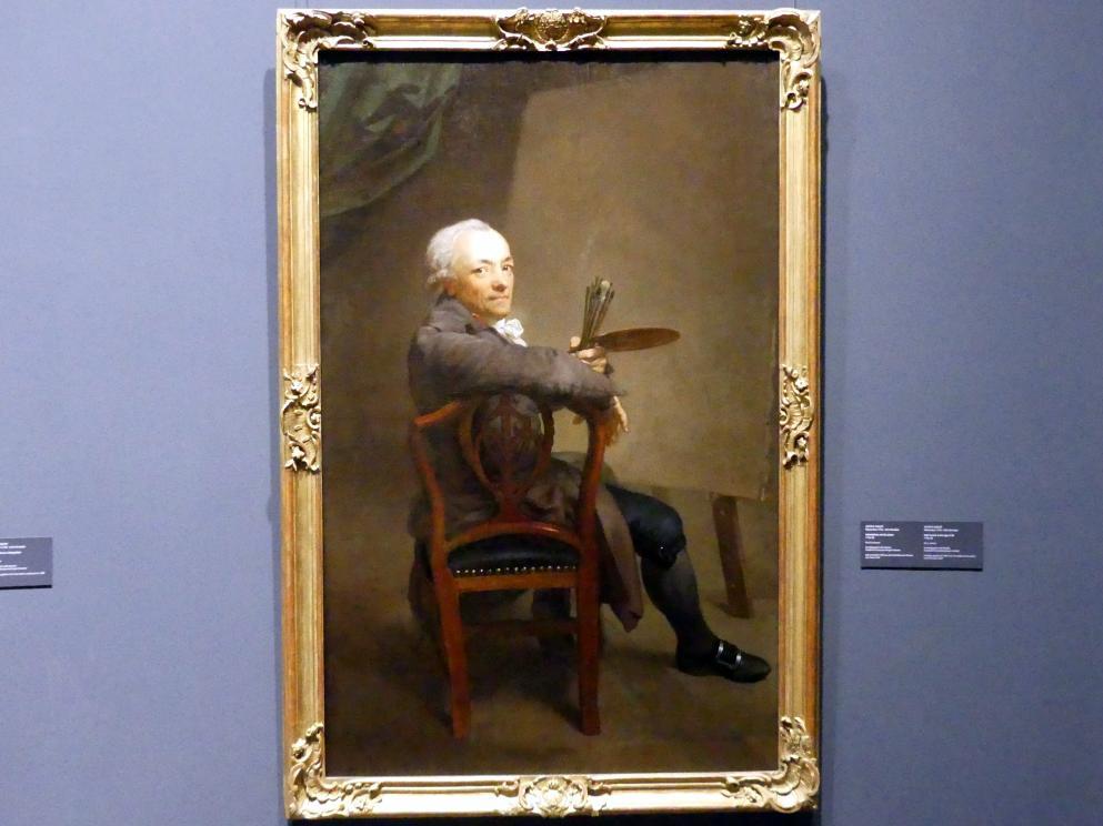 Anton Graff: Selbstbildnis mit 58 Jahren, 1794 - 1795