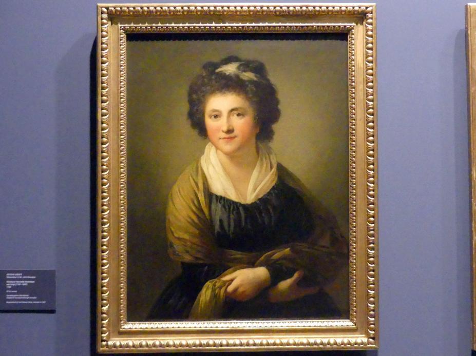 Anton Graff: Christiane Henriette Hommeyer, geb. Voigt (1762-1847), 1788