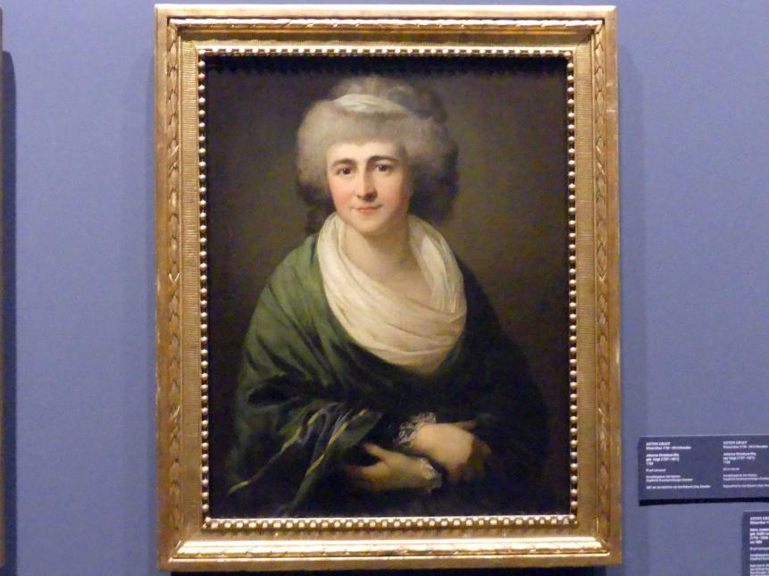Anton Graff: Johanna Christiane Eltz, geb. Voigt (1757-1811), 1788