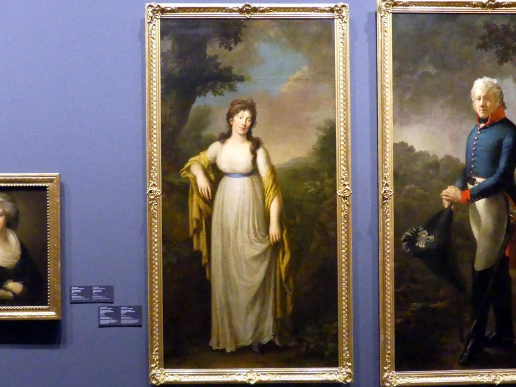 Anton Graff: Maria Josepha von Carlowitz, geb. Gräfin von Pötting und Persing (1776-1834), um 1805