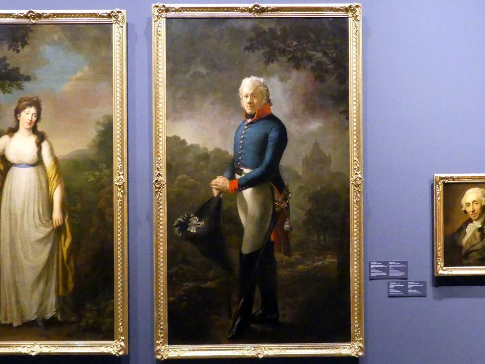 Anton Graff: Majoratsherr von Großhartmannsdorf und Liebstadt Carl Adolph von Carlowitz (1771-1837), 1805