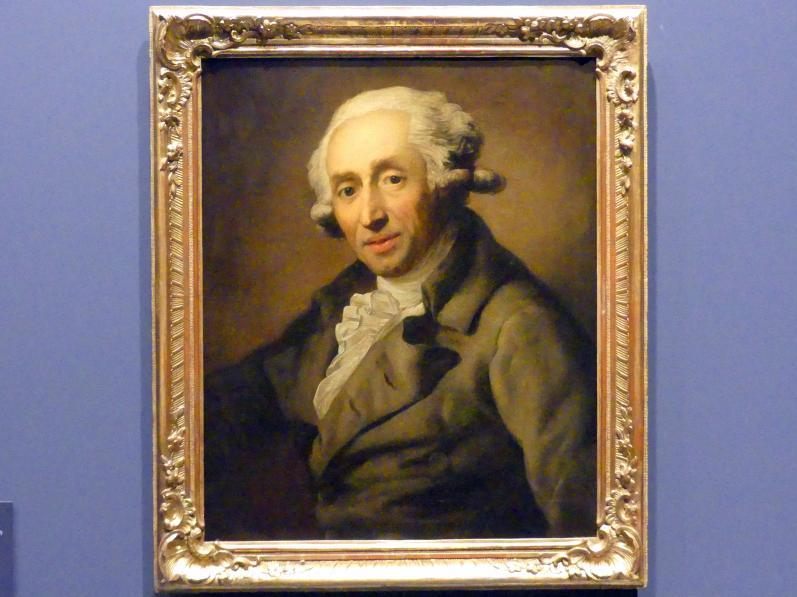 Anton Graff: Der Mediziner und Philosoph Ernst Platner (1744-1818), um 1789