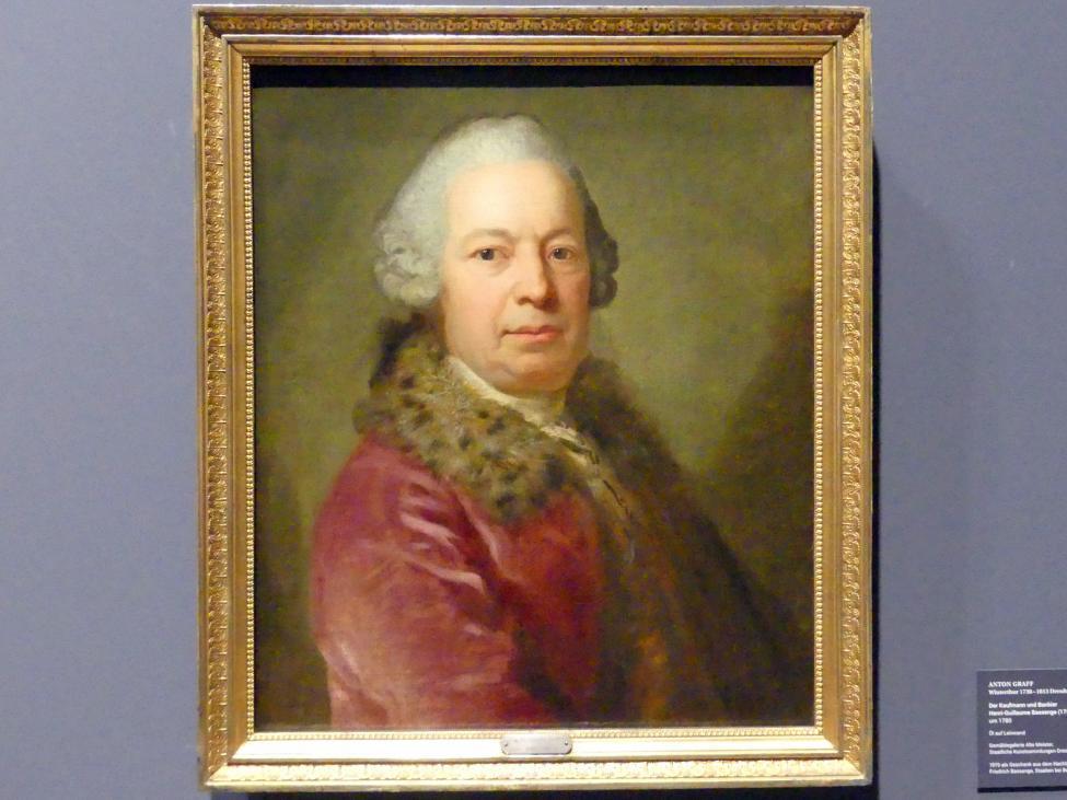 Anton Graff: Der Kaufmann und Bankier Henri-Guillaume Bassenge (1751-1822), um 1780