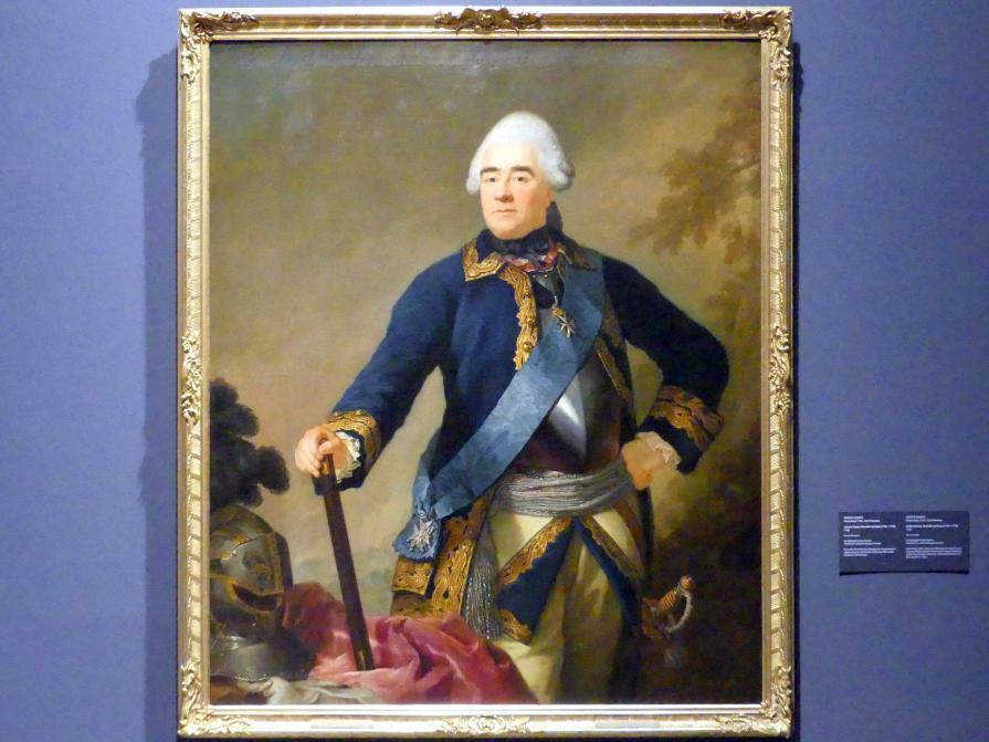 Anton Graff: Johann Georg, Chevalier de Saxe (1704-1774), 1768