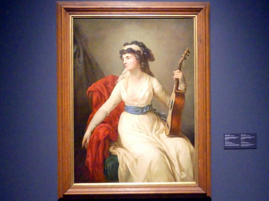 Anton Graff: Johanne Margarethe Christina Gräfin von Brühl, geb. von Schleyerweber und Friedenau (1756-1816), 1796