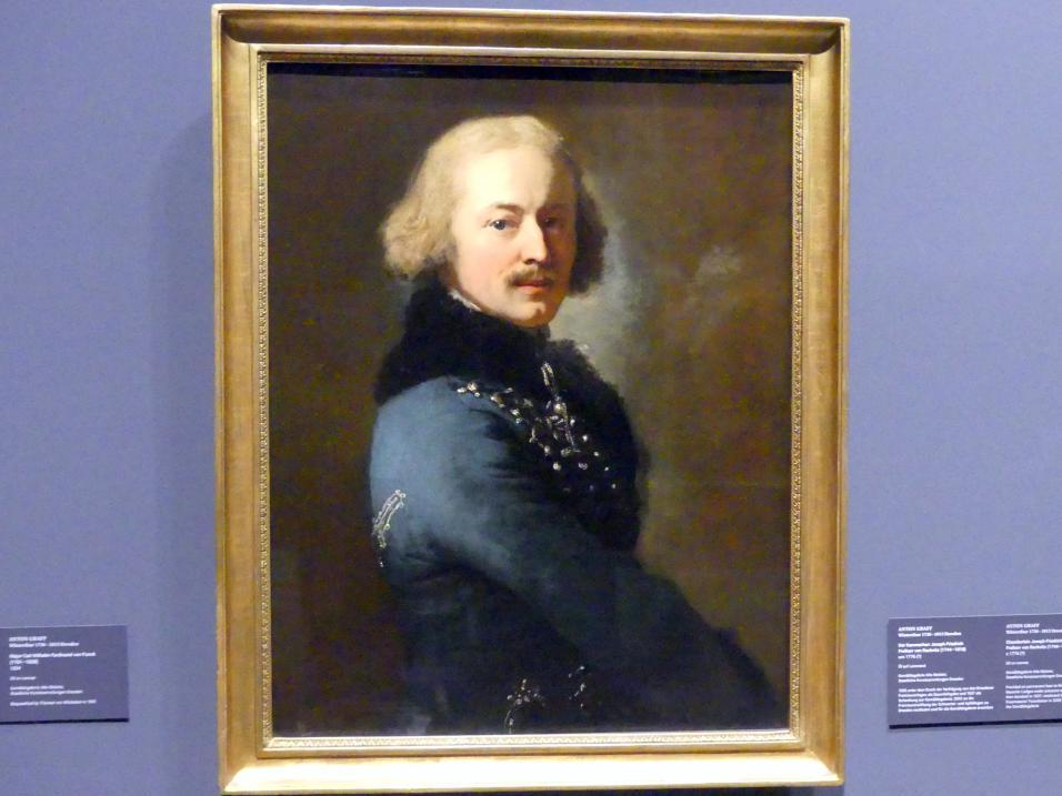 Anton Graff: Major Carl Wilhelm Ferdinand von Funck (1761-1828), 1804