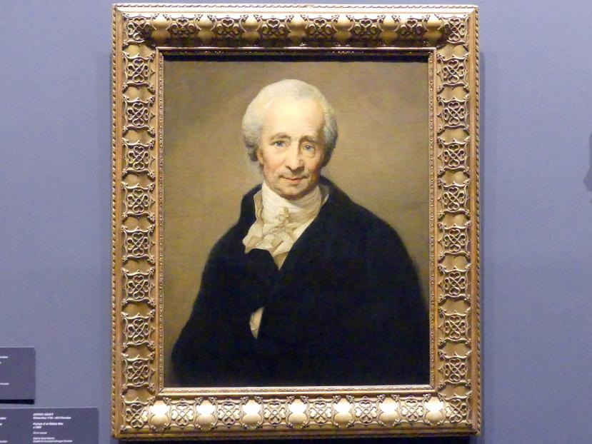 Anton Graff: Bildnis eines älteren Mannes, um 1805
