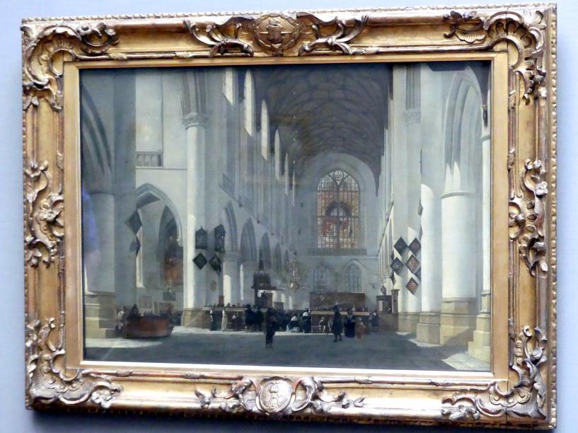 Job Adriaenszoon Berckheyde: Innenansicht der St. Bavokerk zu Haarlem, 1665