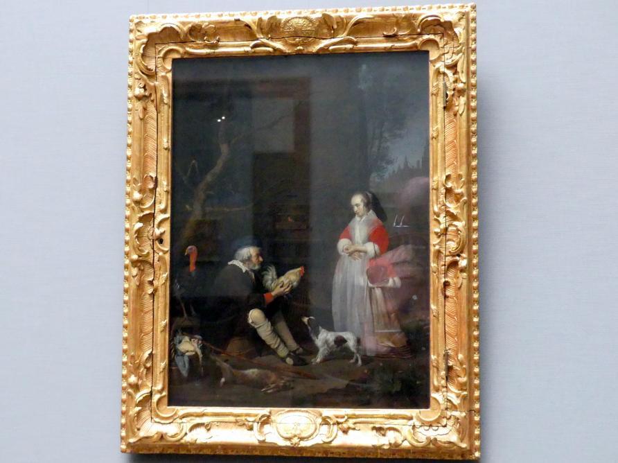 Gabriël Metsu: Der Geflügelverkäufer, 1662