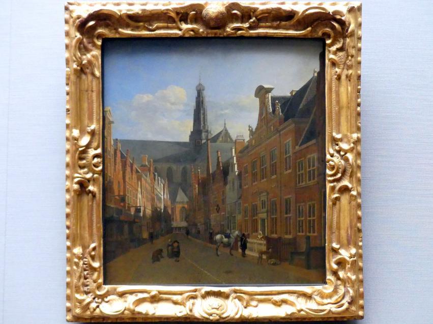 Gerrit Adriaenszoon Berckheyde: Straße in Haarlem, Um 1680