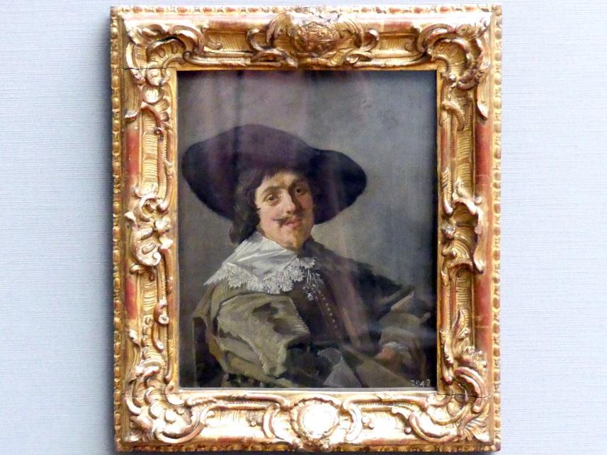 Frans Hals: Bildnis eines jungen Mannes in gelbgrauem Rock, um 1633
