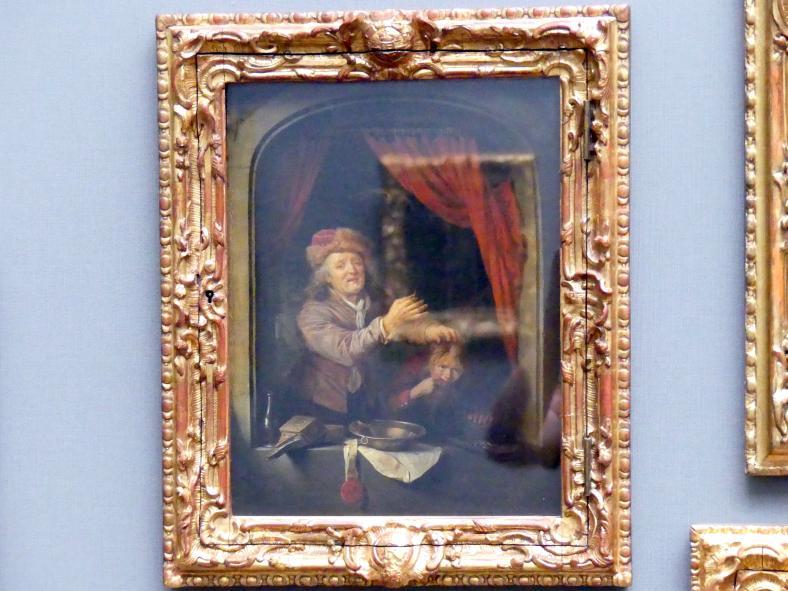 Gerard Dou: Der Zahnarzt, 1672