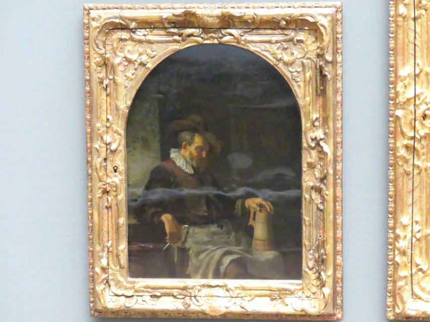 Frans van Mieris der Ältere: Der Alte mit der Holzkanne, Undatiert