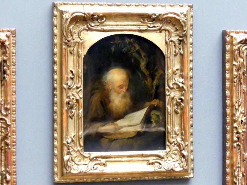 Gerard Dou: Der lesende Einsiedler, Um 1664