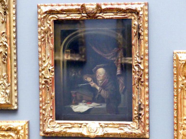 Gerard Dou: Der alte Schulmeister, 1671