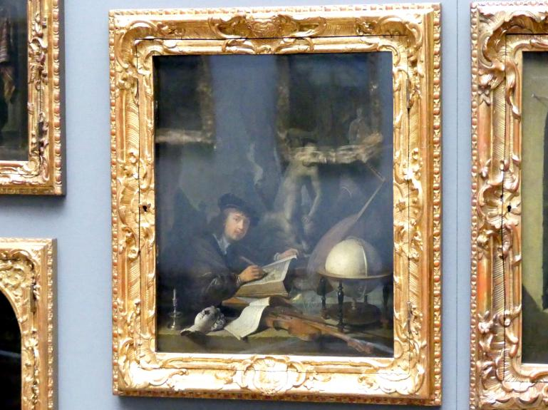 Gerard Dou: Der Maler in seiner Werkstatt, 1647