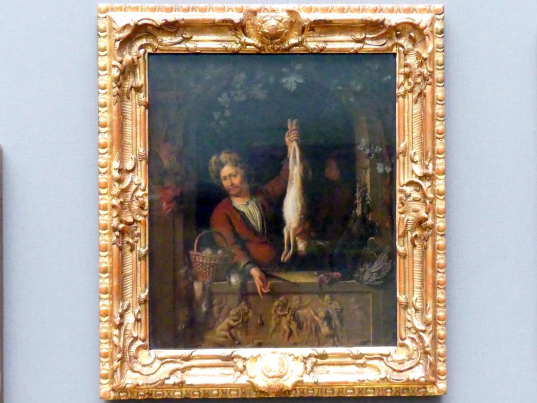 Willem van Mieris: Der Wildbrethändler, 1699