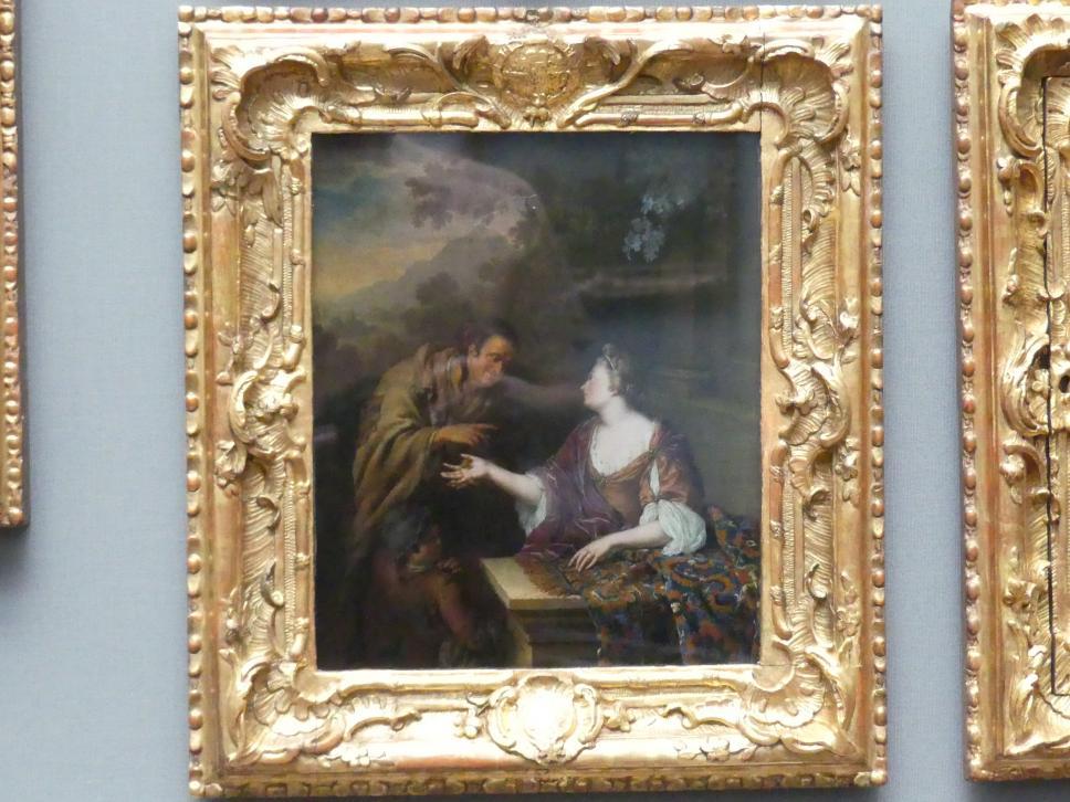 Willem van Mieris: Die Wahrsagerin, 1706