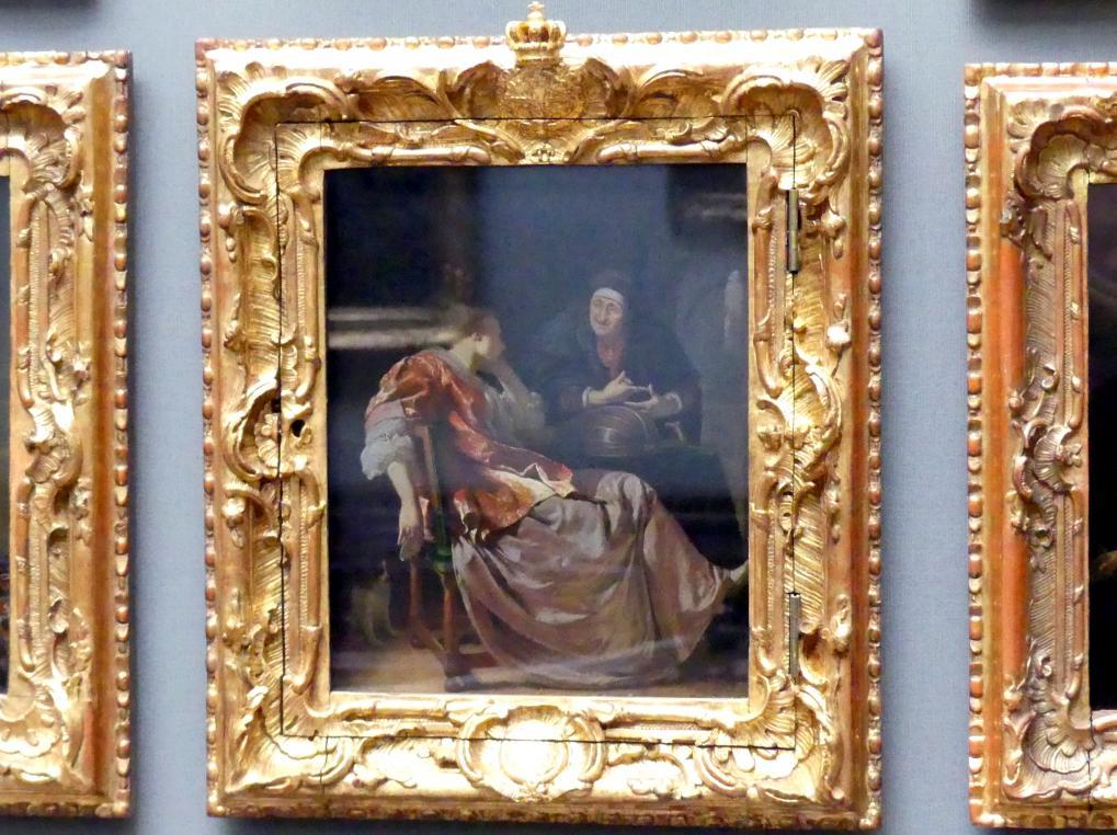 Frans van Mieris der Ältere: Die Liebesbotschaft, 1671