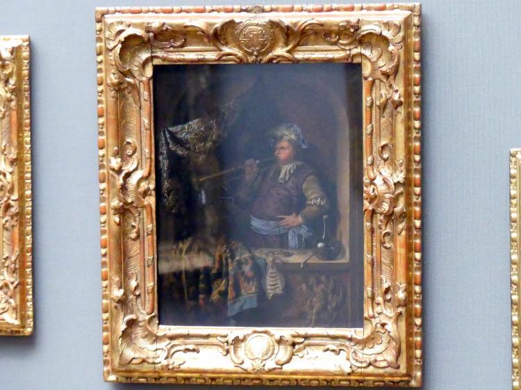 Willem van Mieris: Der Trompeter, 1700