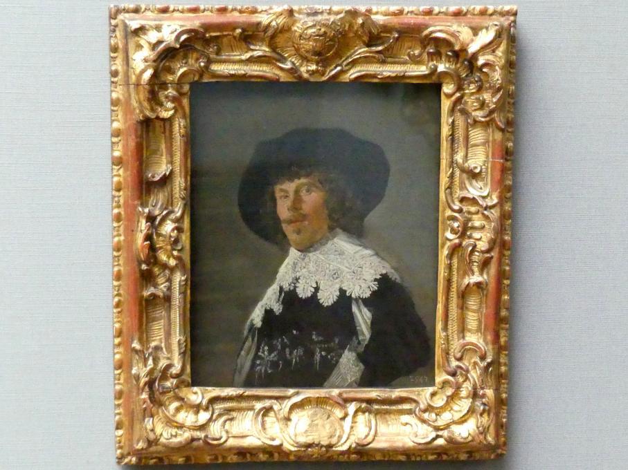 Frans Hals: Bildnis eines jungen Mannes in schwarzem Rock, um 1633
