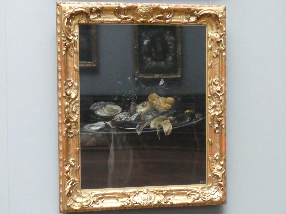 Willem van Aelst: Ein Austernfrühstück, 1679