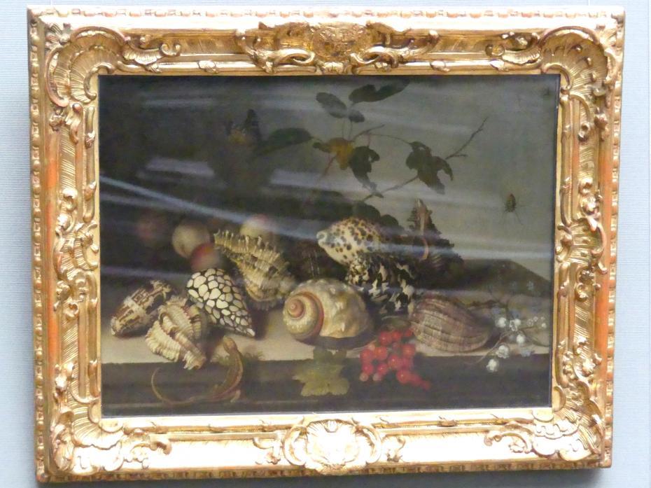 Balthasar van der Ast: Meeresschnecken und Früchte, um 1635