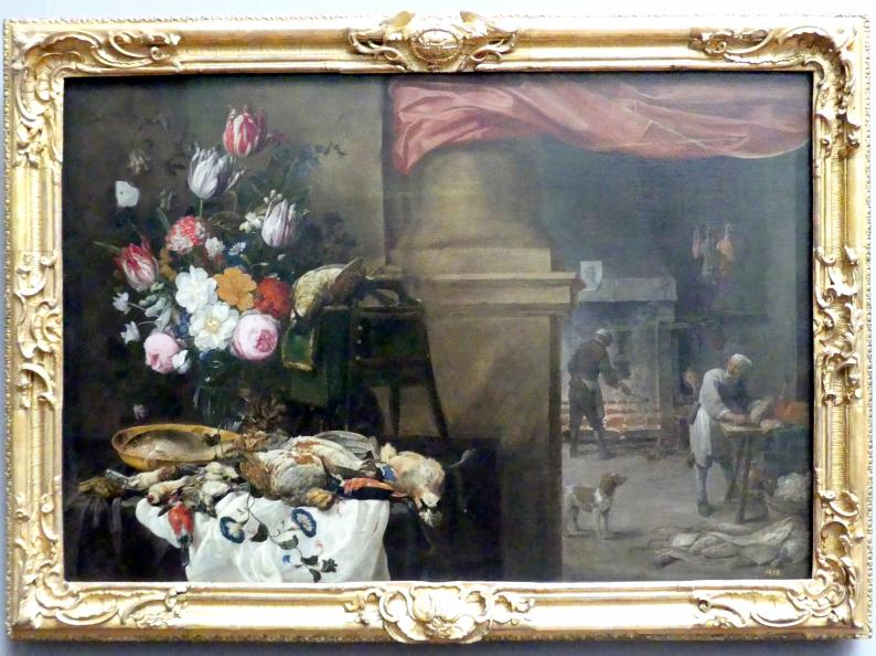 David Teniers der Jüngere: Vor der Küche, um 1670 - 1675