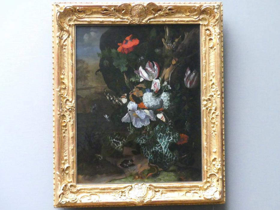 Rachel Ruysch: Blumen und Tiere, Um 1685 - 1687