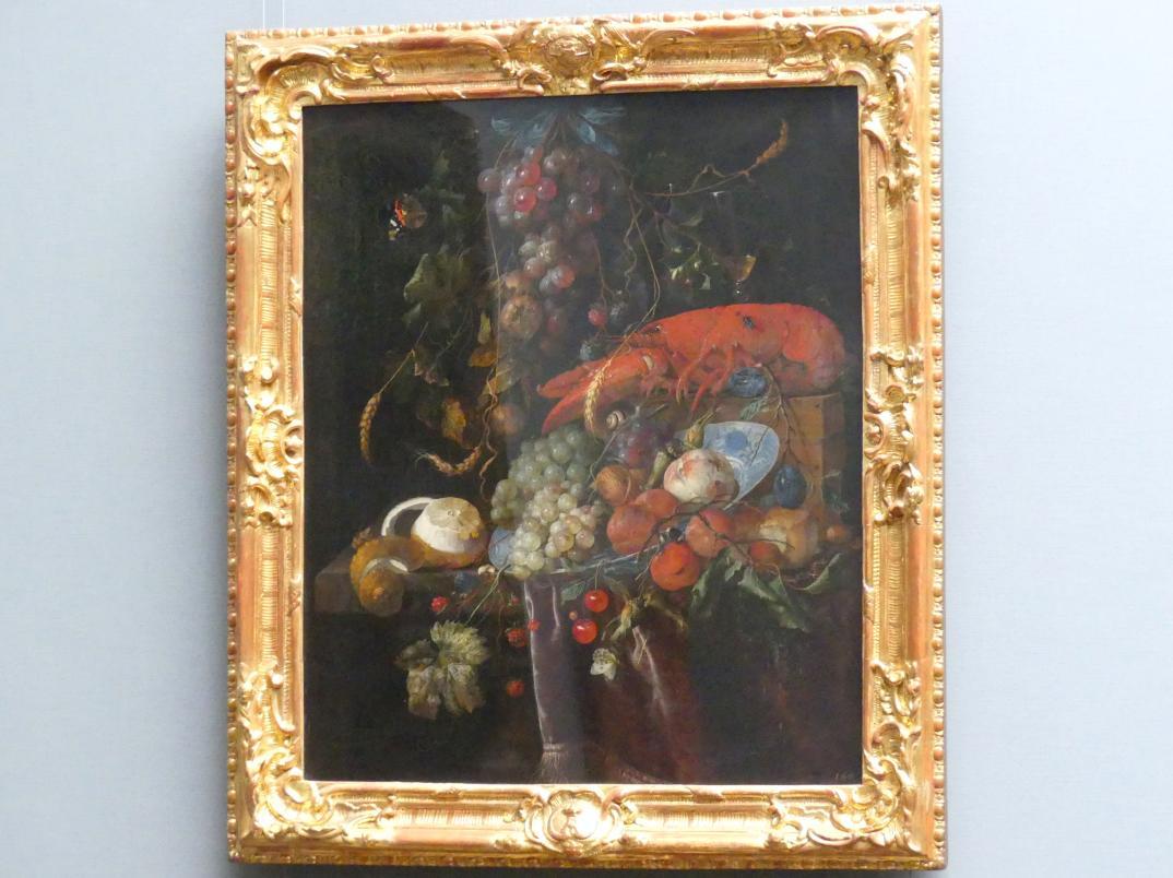 Jan Davidsz. de Heem: Stillleben mit einem Hummer, um 1669