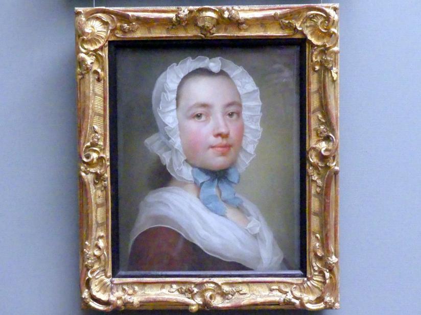 Theresa Concordia Maron, geb. Mengs: Selbstbildnis, um 1744 - 1745