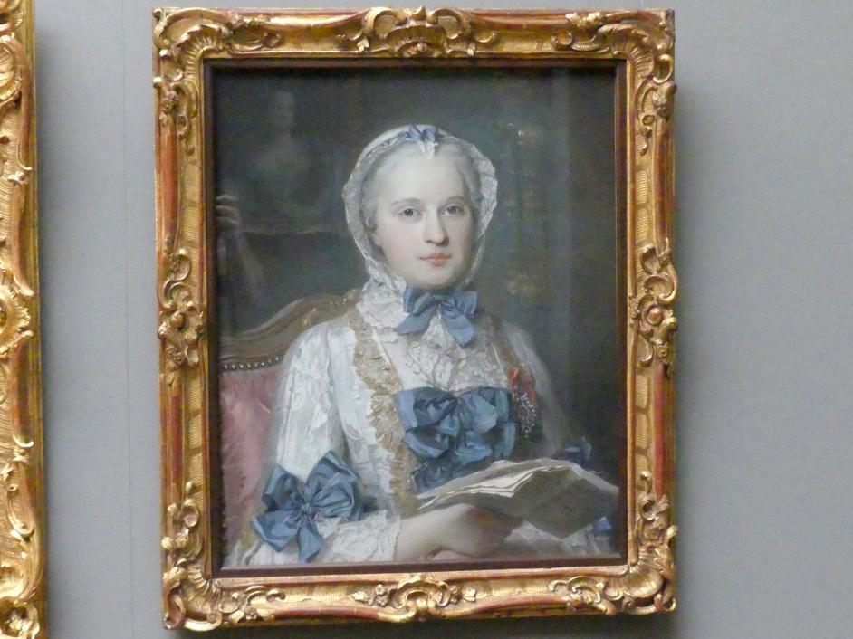 Maurice Quentin de La Tour: Maria Josepha, Dauphine von Frankreich (1731-1767), 1749