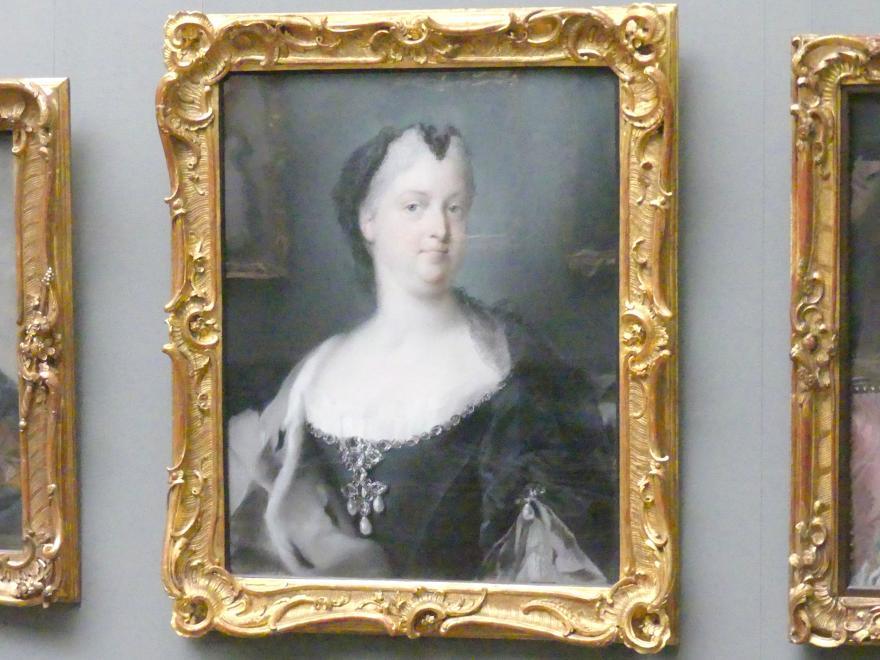 Rosalba Carriera: Kaiserin Wilhelmine Amalie, Gemahlin Kaiser Josephs I. (1673-1742), 1730