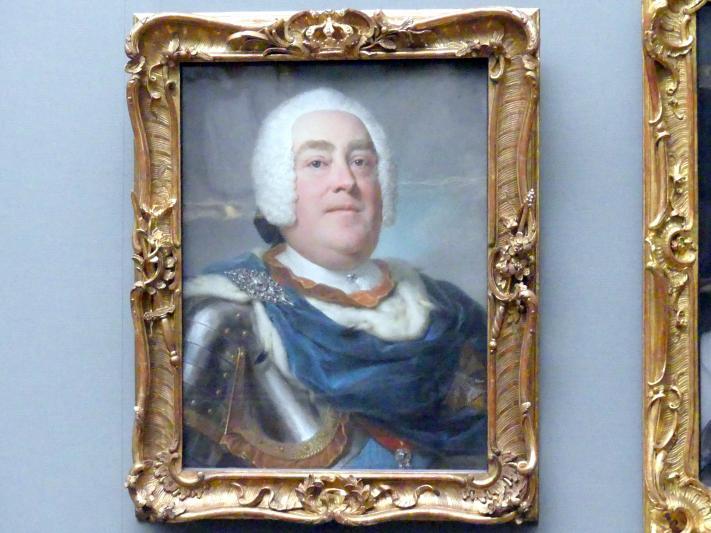 Anton Raphael Mengs: Friedrich August II., Kurfürst von Sachsen, als König von Polen August III. (1696-1763), 1745