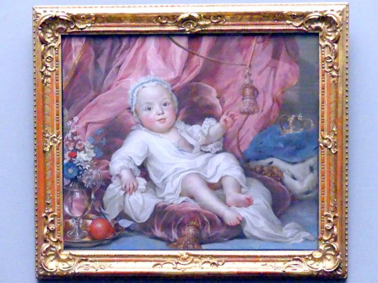Anton Raphael Mengs: Kurfürst Friedrich August III. von Sachsen als Kind (1750-1827), 1751