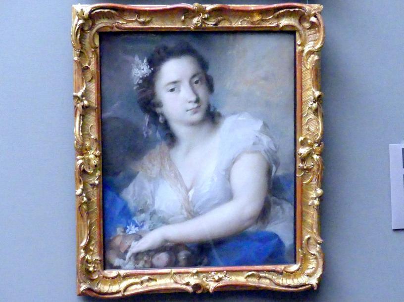 Rosalba Carriera: Die Erde, 1744