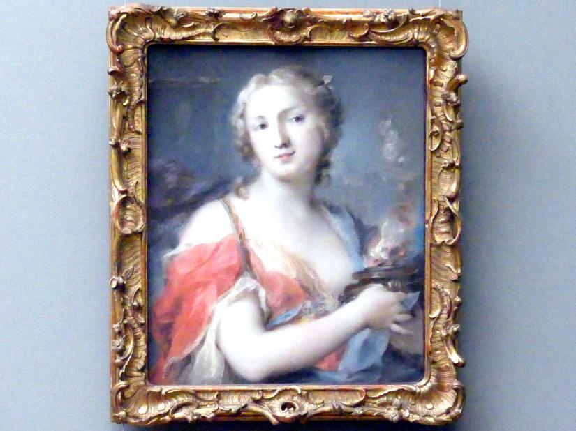 Rosalba Carriera: Das Feuer, 1744